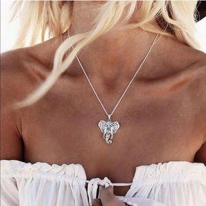 ✨NEW! Bohemian Elephant Pendant Necklace Boho Cute